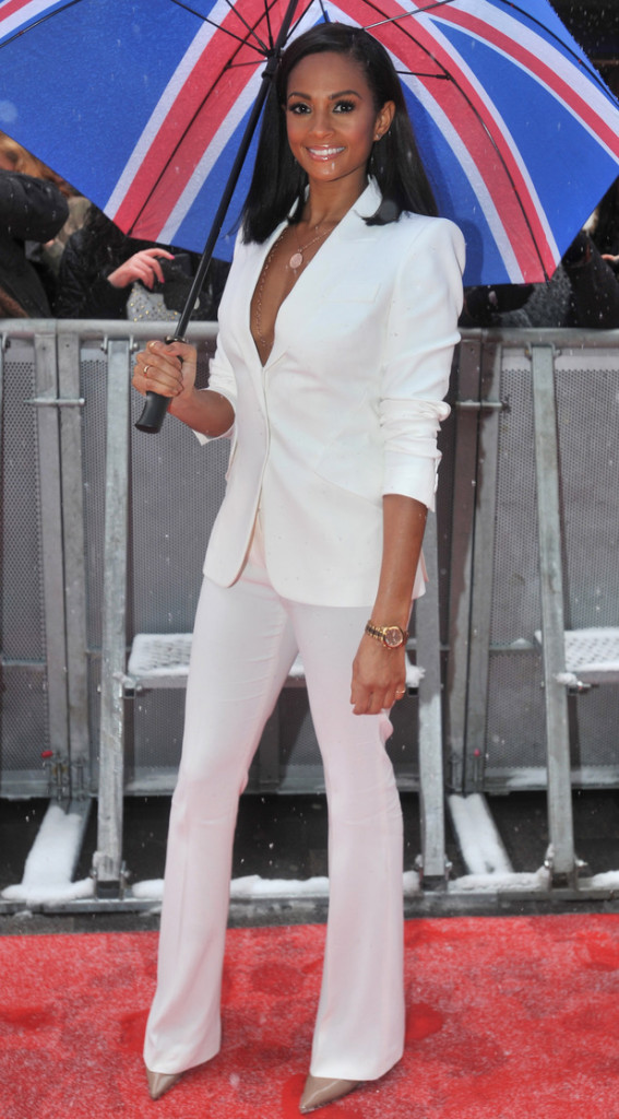 lesha-dixon in white suit