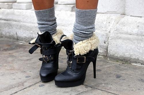 ботильоны с носками