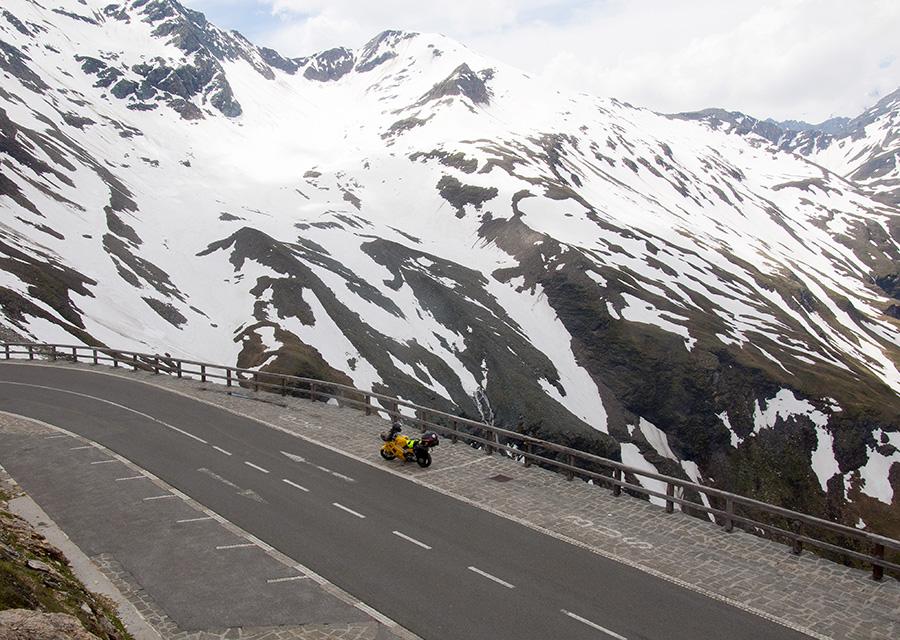 Панорамная дорога Großglockner мотопутешествие