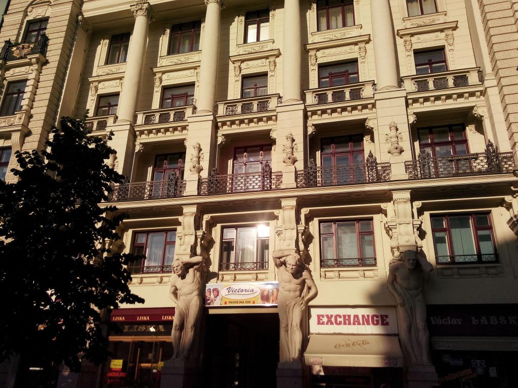 красивые здания Брно