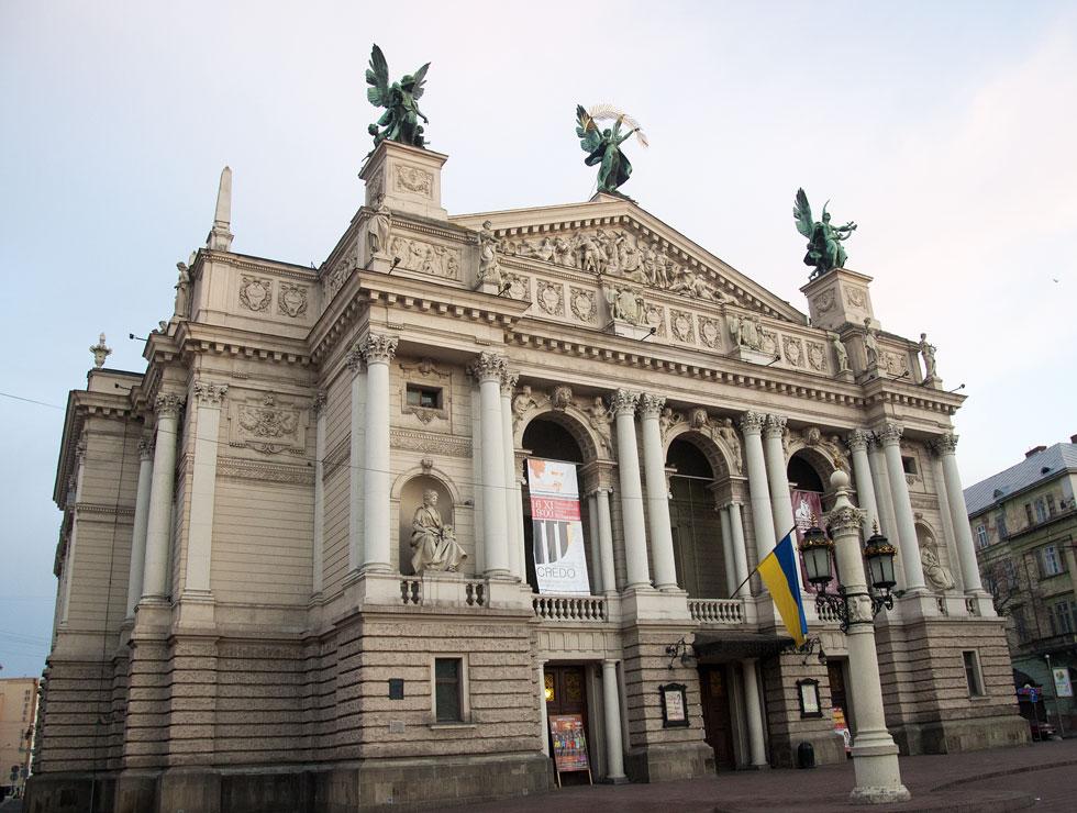 оперный театр Львова