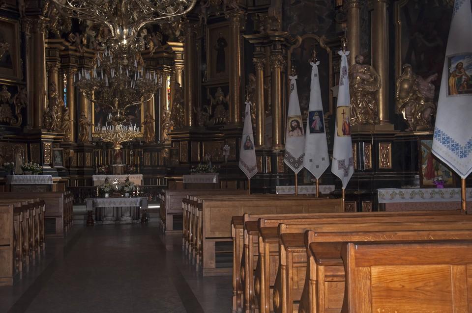 Внутри Греко-католическая церковь Святого Андрея