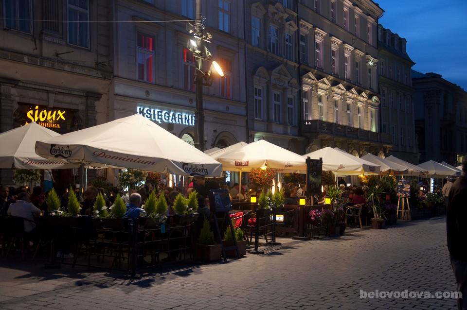 кафе в Кракове