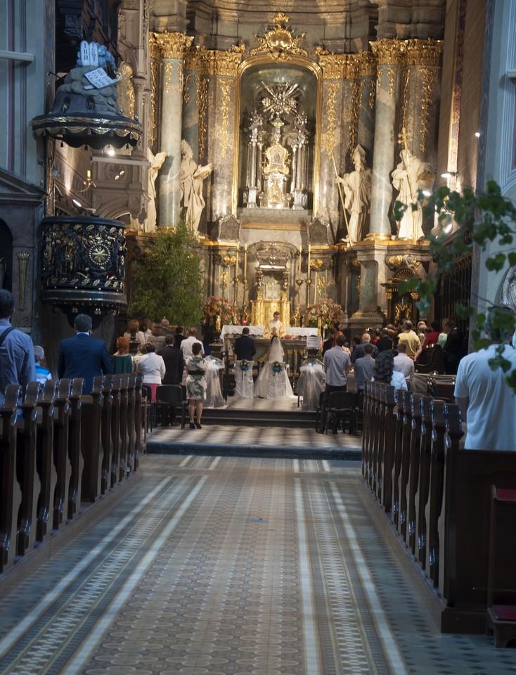 Свадьба в Соборе