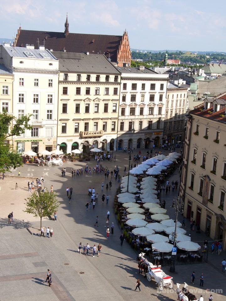 вид с Краковской Ратуши
