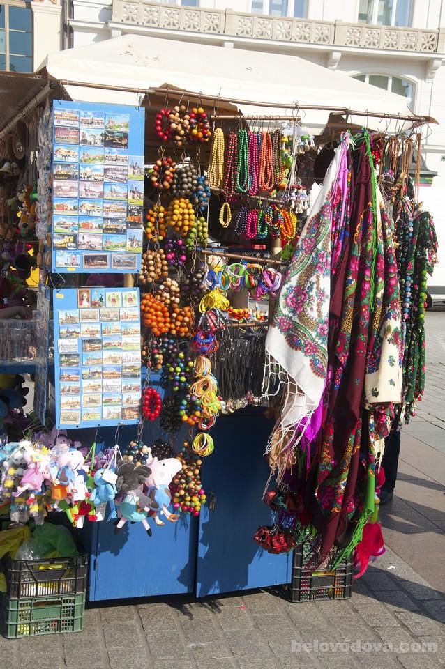 сувениры в Кракове