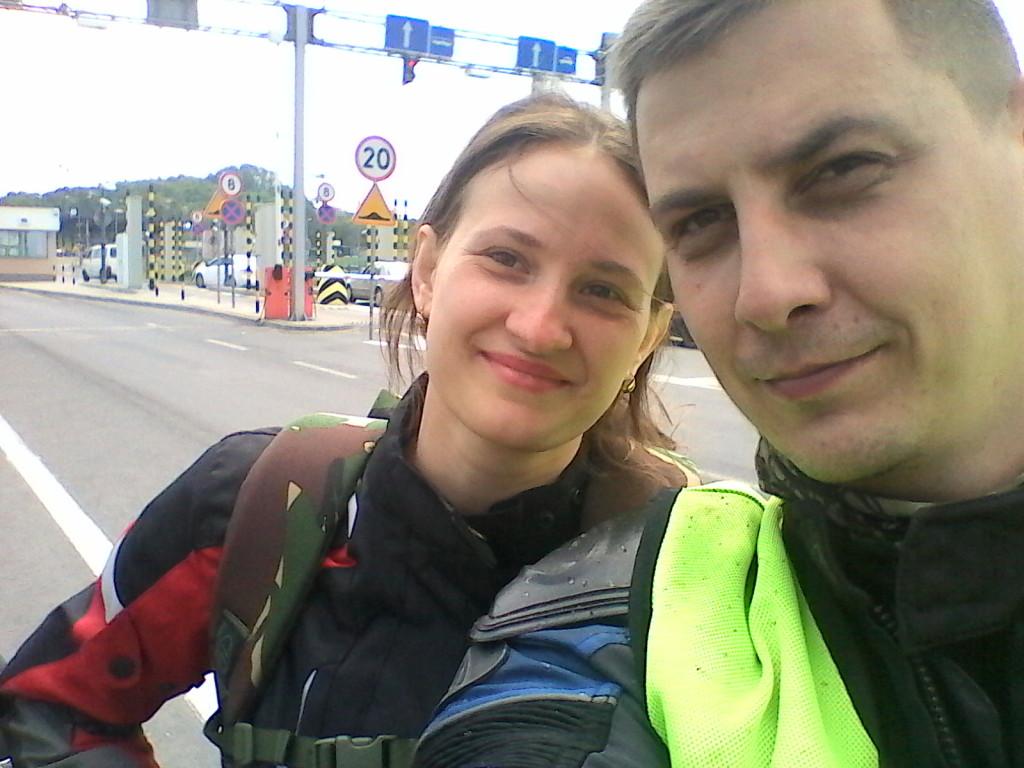 на пункте перехода границы Украина-Польша