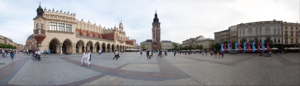 Panorama Krakov