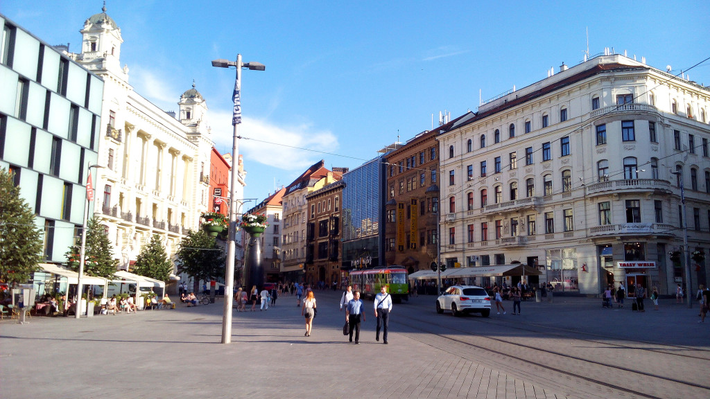 center of Brno
