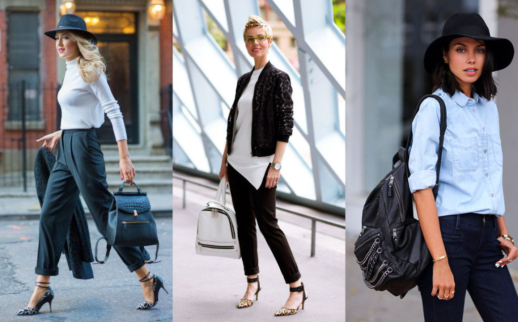 outfits with backpack